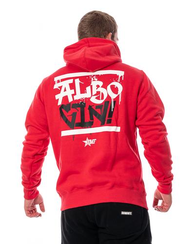 Bluza Z Kapturem 3maj Fason Albo Giń Czerwona