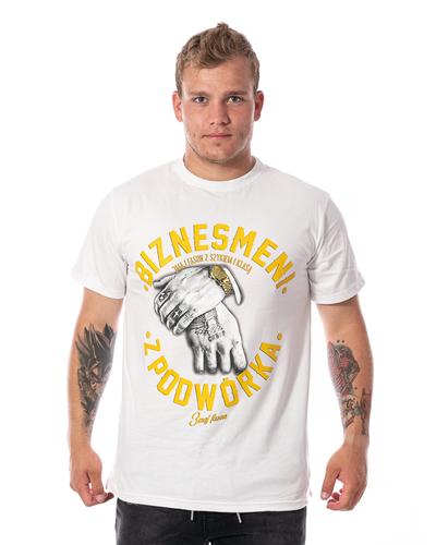 Koszulka 3maj Fason Biznesmeni Biała