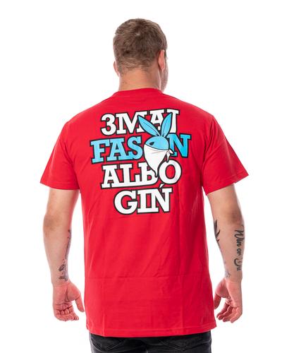 Koszulka 3maj Fason Bunny Czerwona