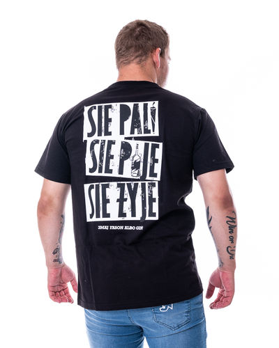 Koszulka 3maj Fason Się Pije Czarna