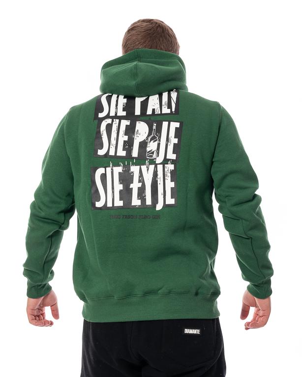 Bluza Z Kapturem 3maj Fason Się Pije Zielona