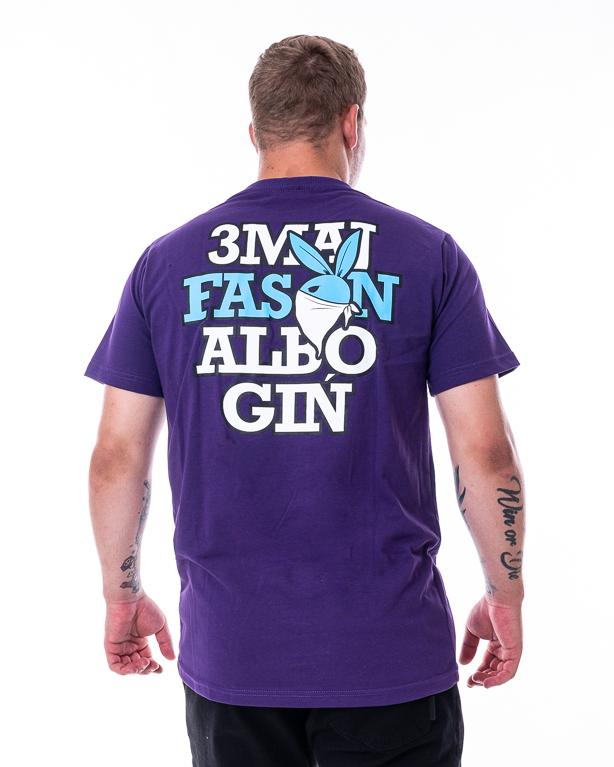 Koszulka 3maj Fason Bunny Fioletowa